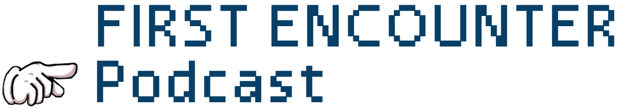 Logo for First Encounter Podcast